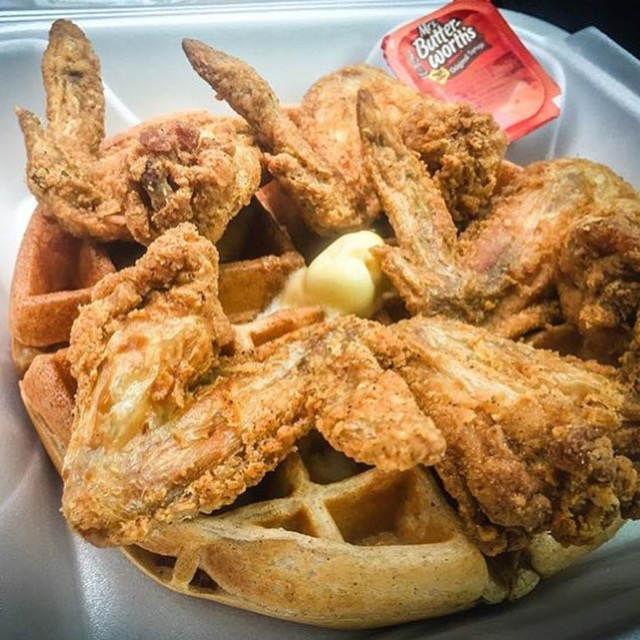 Waffle mania 901 for Jj fish and chicken