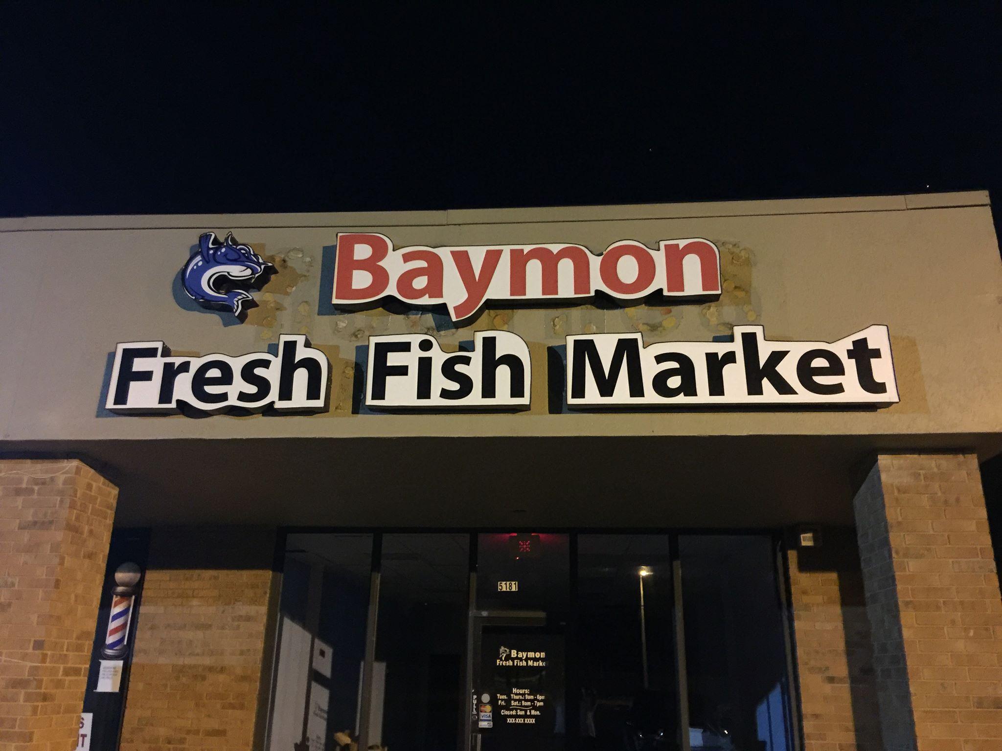 Baymon fresh fish market for Fishing in memphis