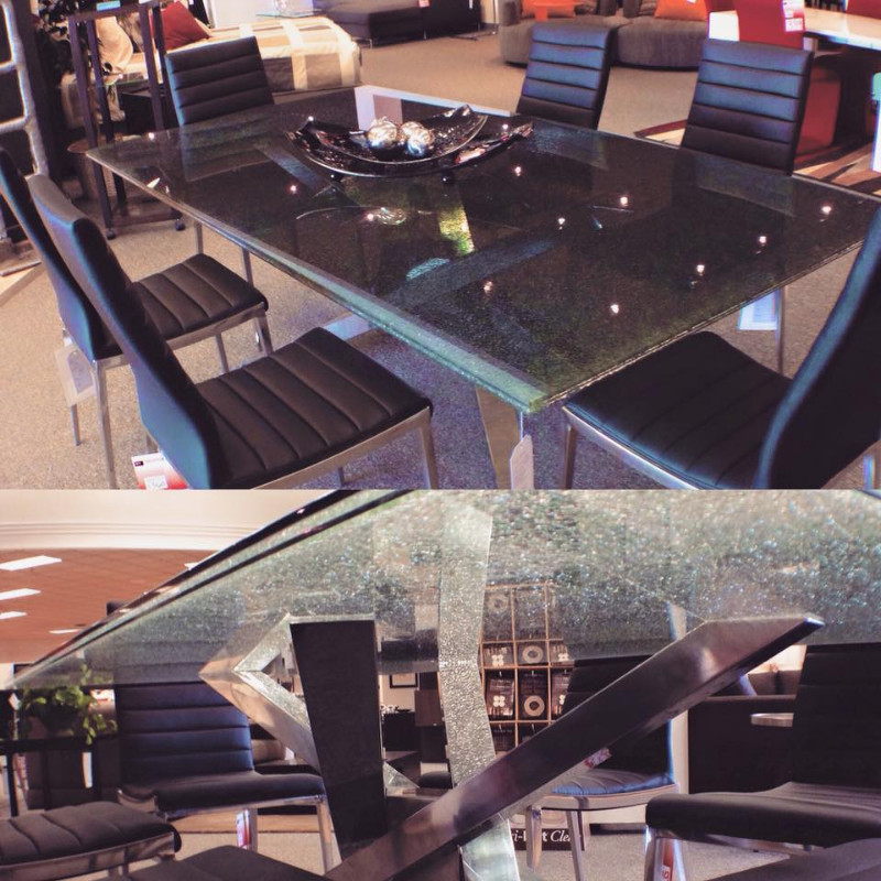 Lovely ... Scan Interiors Black Cracked Glass;  1421113_10152150412959913_657375975_o ...