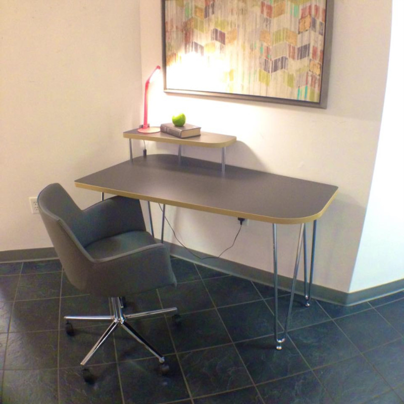 High Quality ... Scan Interiors Eurostyle Desk And Chair ...