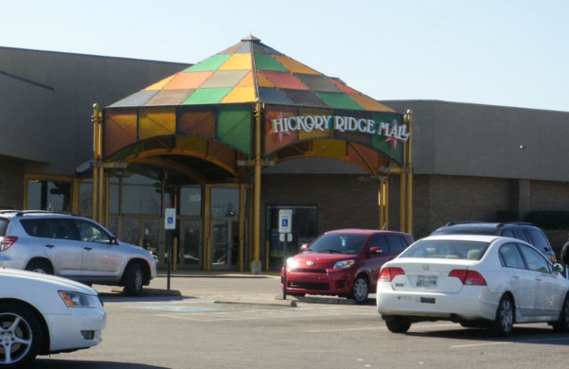 Hickory-Ridge-Mall-front-entrance-outside
