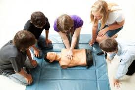 Geo CPR Training floor